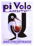 Apéritif Pivolo Reproduction procédé giclée par Adolphe Mouron Cassandre