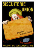 Biscuiterie Union Giclee Print by Leonetto Cappiello
