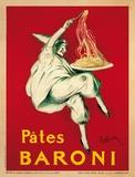 Pâtes Baroni, vers 1921 Affiches par Leonetto Cappiello