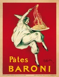 Pates Baroni (oversized postcard) Lámina por Leonetto Cappiello