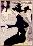 Divan Japonaise, c.1893 Giclee Print by Henri de Toulouse-Lautrec
