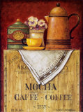 Mocha Caffe - Coffee Prints by Eric Barjot