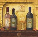 Mehrere Weinflaschen III Kunstdrucke von G.p. Mepas