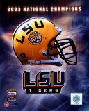 LSU Logo Helmet - 2003 National Champions Photo