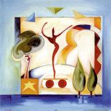 Diversión bajo el sol V Lámina por Alfred Gockel