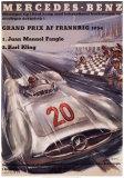 Mercedes Benz Posters af H. Liskars