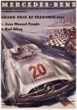 Mercedes Benz Plakaty autor H. Liskars