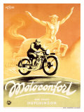 Motoconfort Giclee Print by Roger Cartier