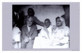 Charlie Chaplin and Ghandi in East London, 23rd of September, 1931 Kunst