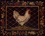 Poule du vieux monde- Mini (10x8) Affiches par Kimberly Poloson