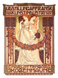 Udstillingafransk Kunstindustri Giclee Print