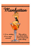 Manhattan Cocktail Giclee Print
