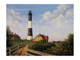 West Channel Lighthouse Print by Daniel Pollera