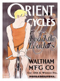 Orient Cycles Giclee Print by Edward Penfield