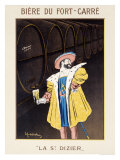Biere du Fort Carre Reproduction procédé giclée par Leonetto Cappiello