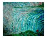 Cataratas del Niágara (r1) Lámina giclée por Chieko Toyoda