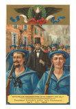 Lincoln's Entry into Richmond, Virginia, Art Print