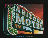 Arizona Motel Posters by Don Stambler
