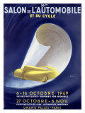 36th Salon de l'Automobile et du Cycle Giclee Print by  Delpy