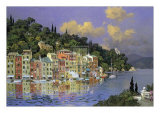 Portofino Sunlight Prints by L. Sollazzi