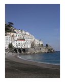 Amalfi Beach Photographic Print by Mary Lane