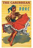 Västindien Affischer av  Ayes