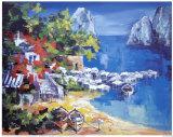 Paesaggio caprese Art by Antonio Di Viccaro