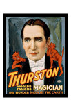 Thurston World Famous Magician Giclee Print
