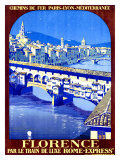 Florence Giclee Print by Roger Broders