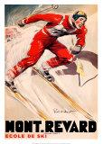 Mont Revard Affiches par  Ordner