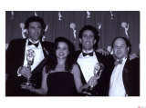 The Cast of Seinfeld with Awards Art