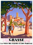 Grasse Giclee Print by Roger Broders