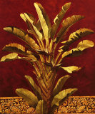 Traveler's Palm Print by Rodolfo Jimenez
