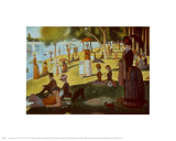 A Sunday on La Grande Jatte 1884, 1884-86 Posters av Georges Seurat