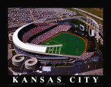 Kansas City Royals - Kauffman Stadium Prints by Brad Geller