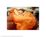 Flaming June, ca 1895|Flaming June, c.1895 Affischer av Frederick Leighton