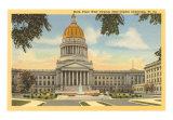 State Capitol, Charleston, West Virginia Art Print