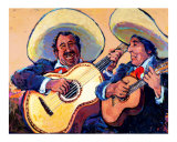 Mariachi Giclee Print by Rick Kersten