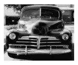 Vintage Chevrolet In Black And White