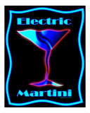 Electric Martini Photographic Print by Liza Sirena Phoenix