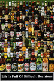 Bierflaschen Kunstdrucke