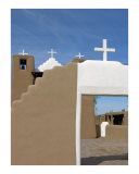 Taos Pueblo Church Photographic Print by Mary Lane