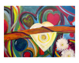 Bound by Love Gicleetryck av Barbara Aliaga