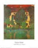 Schloss Kammer at Attersee Poster by Gustav Klimt