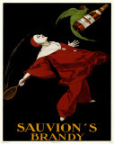 Sauvion's Brandy Posters