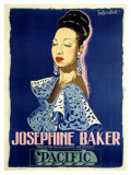 Josephine Baker Stampa giclée di Guy-Gerard Noel