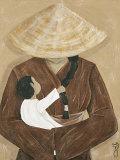 La Femme et L'enfant Art by  Dothy