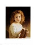 Story Book Prints by William Adolphe Bouguereau
