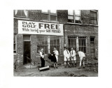 Miniature Golf at Tailor's Shop, 1930 Photographic Print