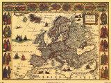 Le mystère des cartes Antiques dans ATLANTES willem-janszoon-blaeu-cartes-anciennesii